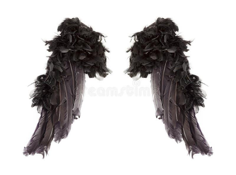 Темные крыла ангела бесплатная иллюстрация