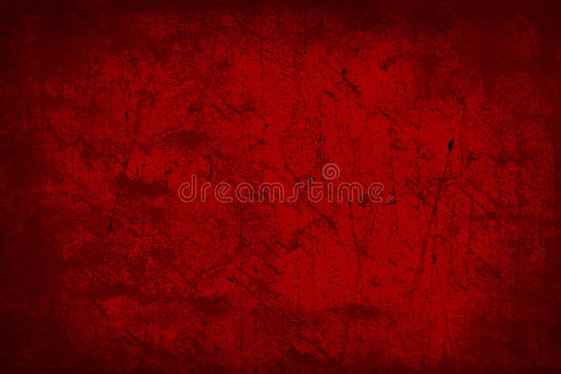 Темный - красные старые обои предпосылки текстуры конспекта Grunge