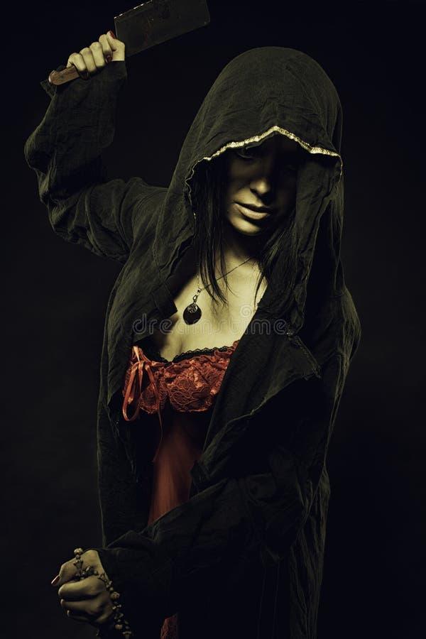 Темный ритуал стоковые изображения