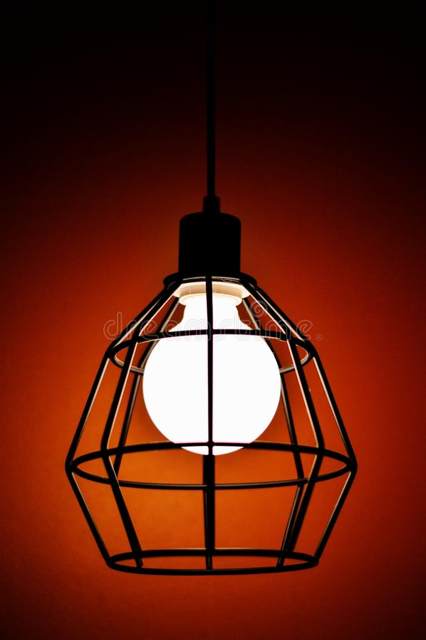 темный светильник стоковые фото