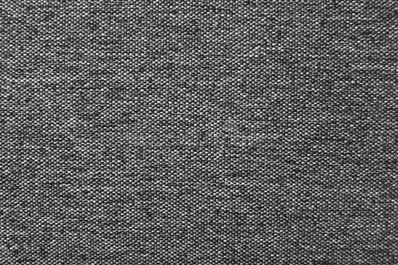 Темный - серая естественная linen текстура ткани для предпосылки стоковые изображения rf