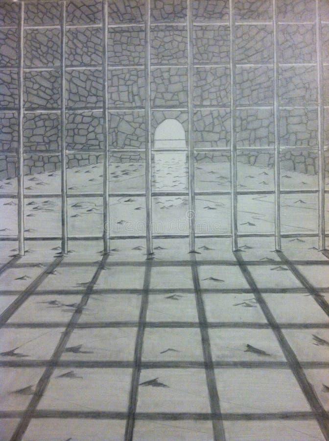 темный тоннель стоковое изображение rf