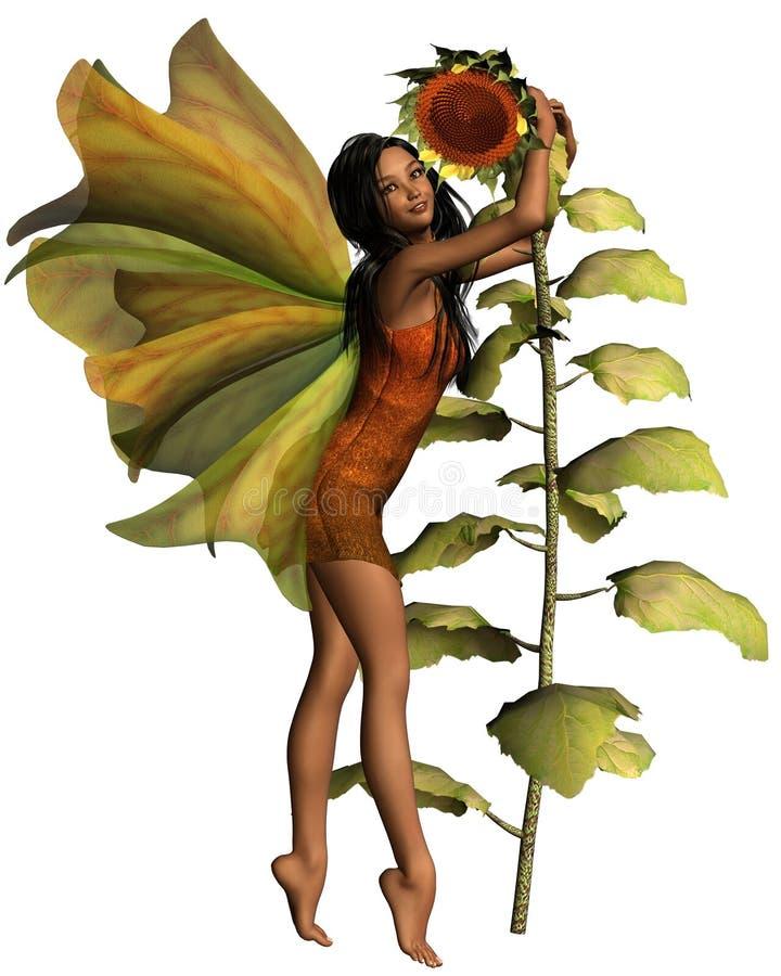 темный fairy солнцецвет бесплатная иллюстрация