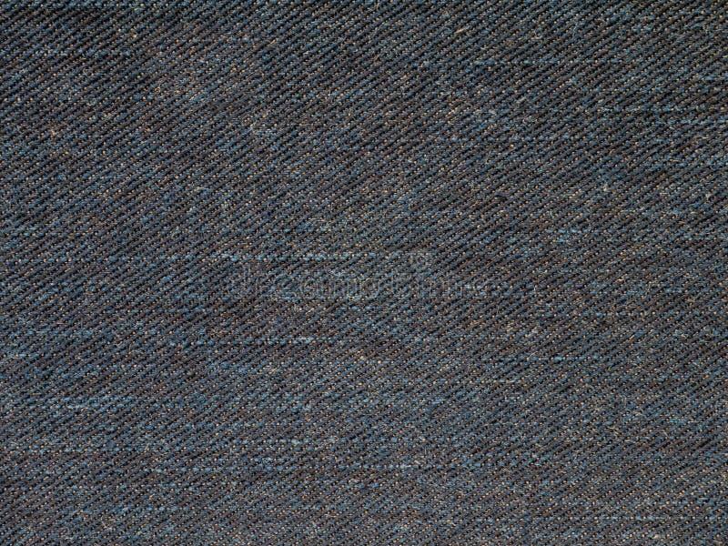 Темным джинсовая ткань помытая индиго стоковые фотографии rf