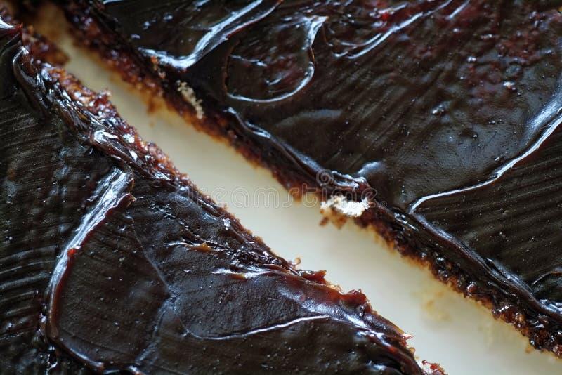 Темн-коричневое распространение еды на здравице стоковые фото