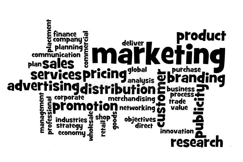 темы маркетинга стоковое изображение rf