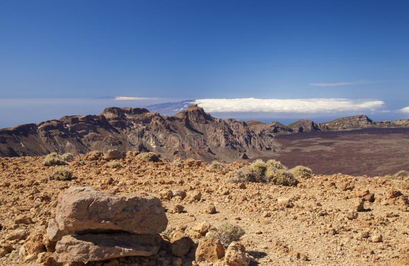 Тенерифе, вид из Гвахары стоковые фотографии rf