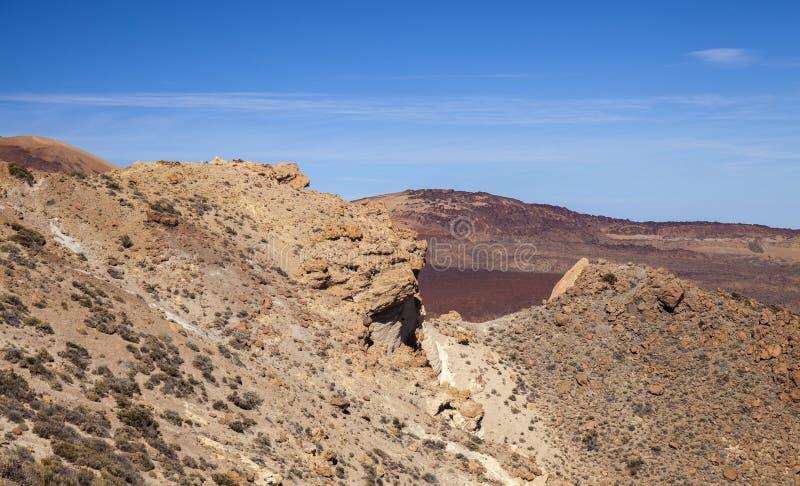 Тенерифе, пешие прогулки по горной Гвахаре стоковые изображения rf