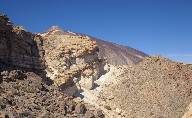 Тенерифе, пешие прогулки по горной Гвахаре стоковая фотография