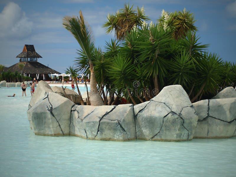 Тенерифе - самый большой и заселять остров 7 Канарских островов стоковая фотография