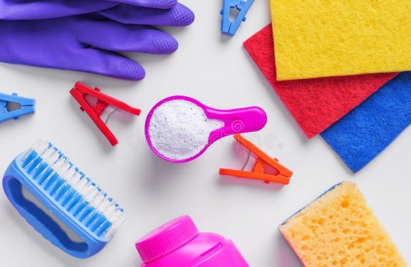 Тензиды для очищать и извлекать пятна Конец-вверх стоковая фотография rf