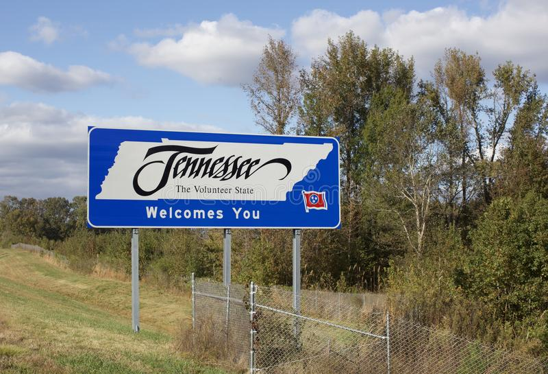 Теннесси, добровольное положение стоковые фото