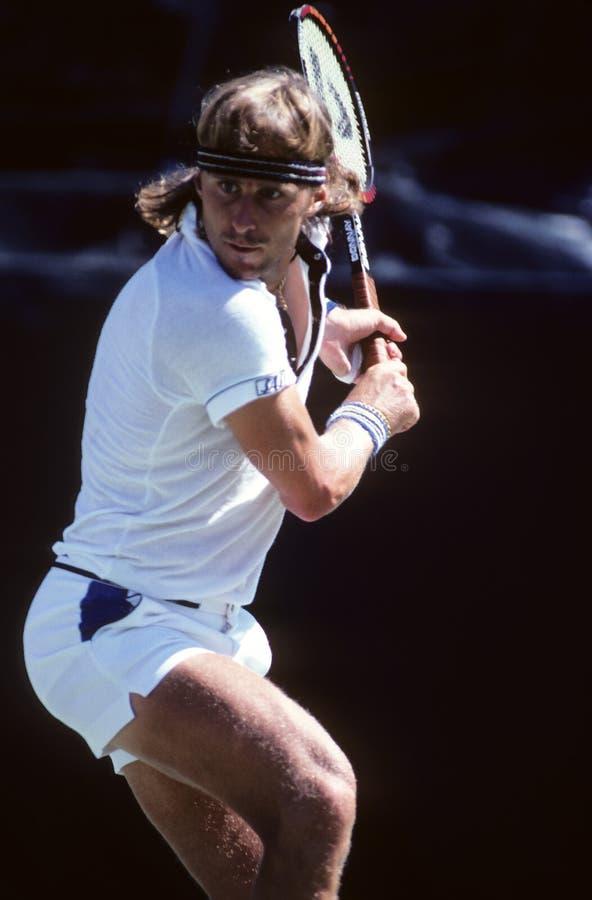 Теннисист Bjorn Borg стоковое фото rf