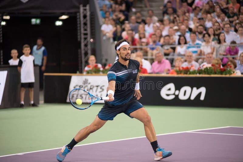 Теннисист Fabio Fognini стоковое изображение rf