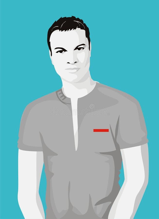тенниска человека стоковая фотография