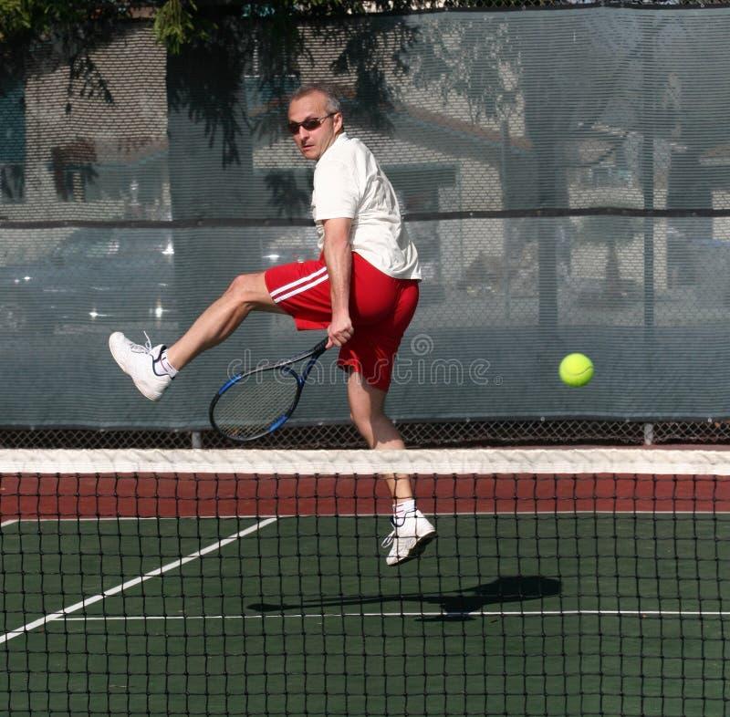 теннис игрока стоковое фото rf