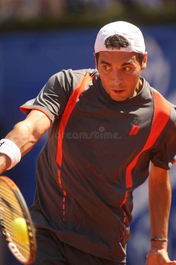 теннис испанского языка игрока monta albert es стоковое фото