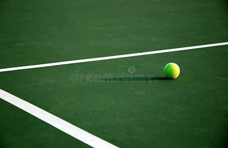 теннис после полудня стоковая фотография