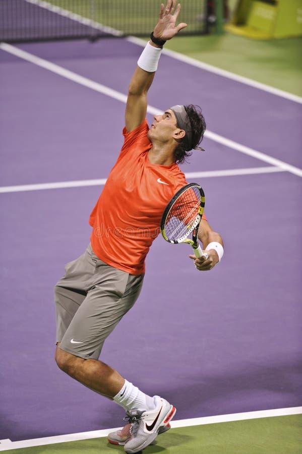 теннис atp nadal rafael стоковые фото