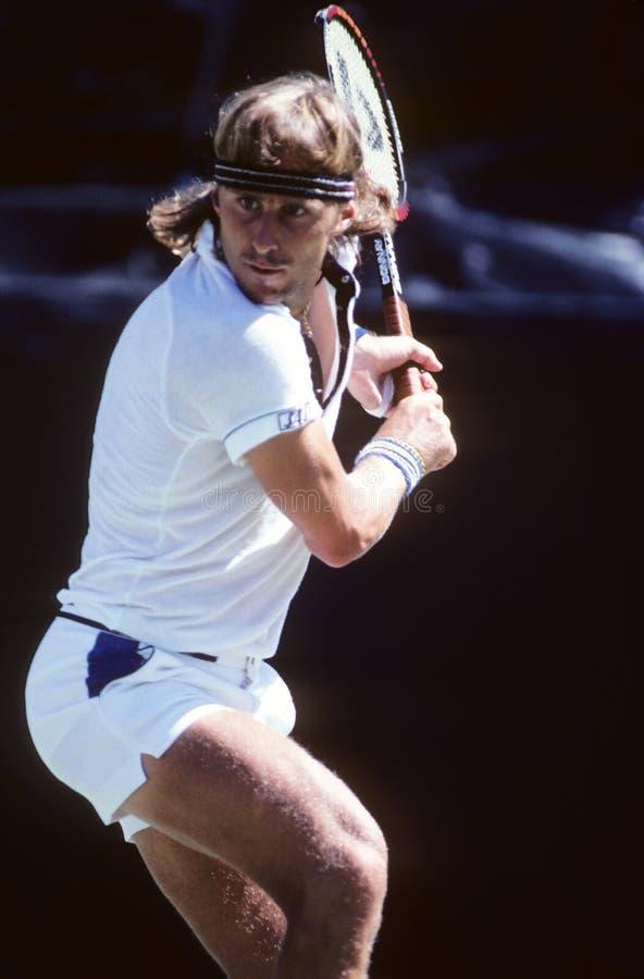 Теннис Bjorn Borg профессиональный стоковое фото