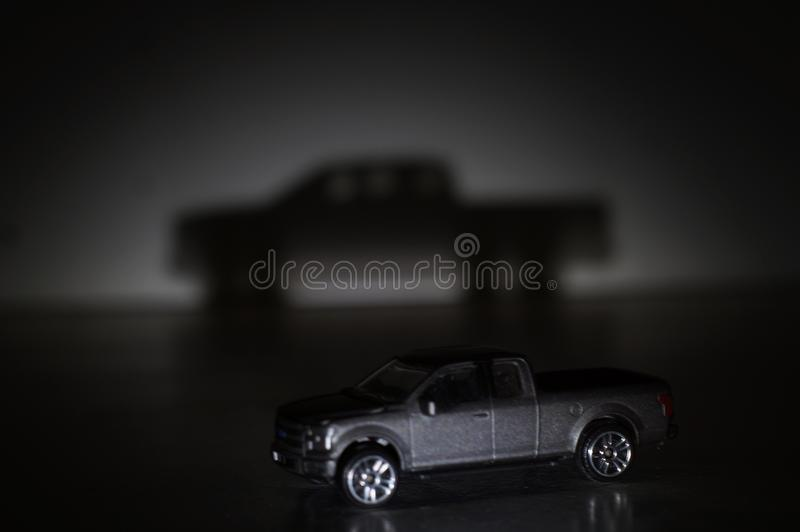 Тень автомобиля стоковые изображения