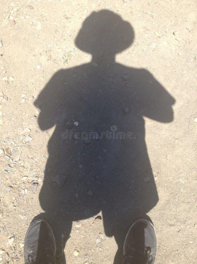 Тень ведра стоковое фото