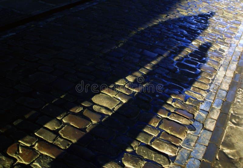 тень жизней стоковая фотография rf