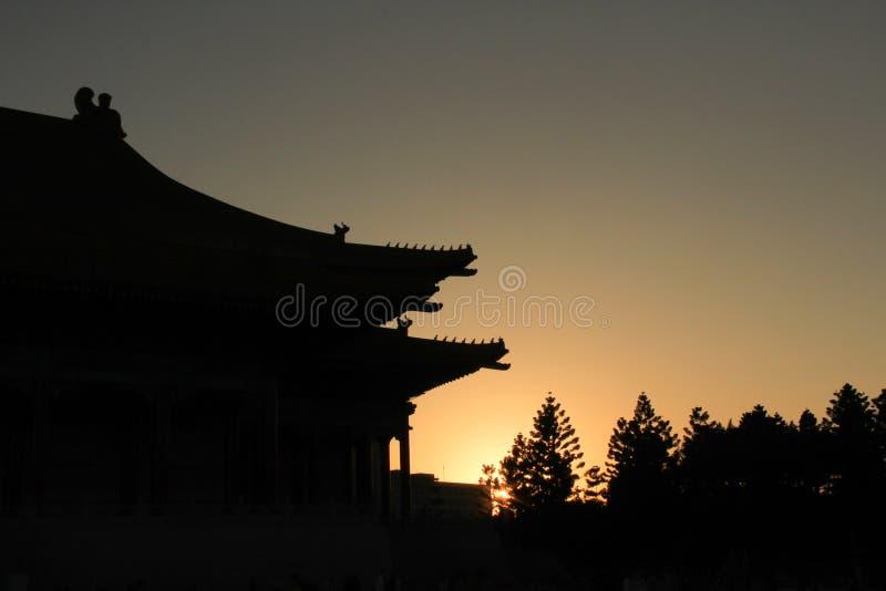 Тень залы 2017 Jiang Kai Shek мемориальной, Тайбэй, Тайвань стоковые изображения rf