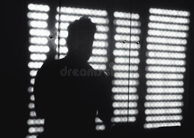Тень окна стоковые изображения rf