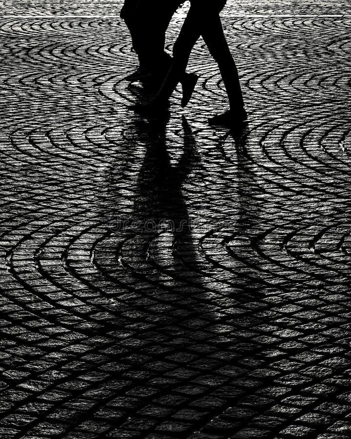 Тень после дождя стоковая фотография rf
