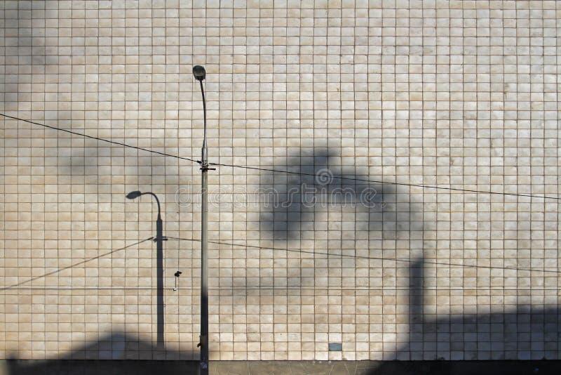 Тень дыма и фонарика стоковое изображение rf