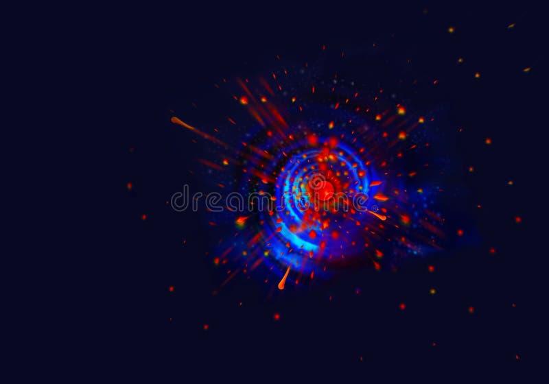 Теория большого взрыва стоковое фото rf