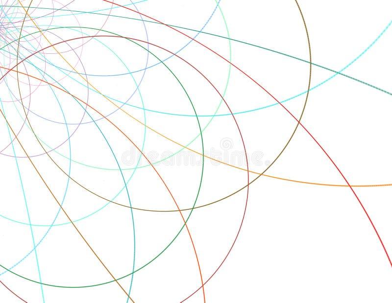 Теория строки Физические процессы и спутывание суммы бесплатная иллюстрация