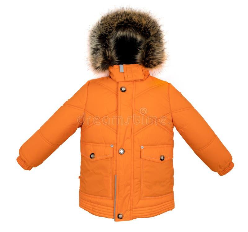 Теплая изолированная куртка стоковое фото