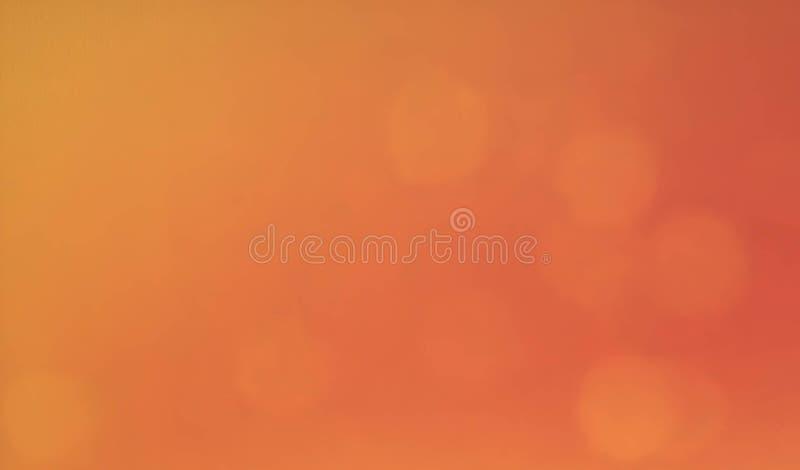 Теплая предпосылка осени в красном золоте пинка желтом и оранжевом с белым центром и винтажной текстурой предпосылки grunge, крас стоковые фотографии rf