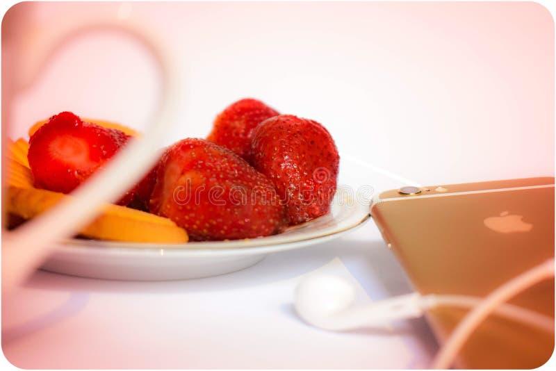 Теплая закуска вечера стоковое фото rf
