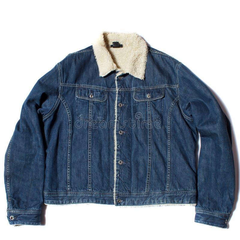 Теплая куртка демикотона стоковое фото rf
