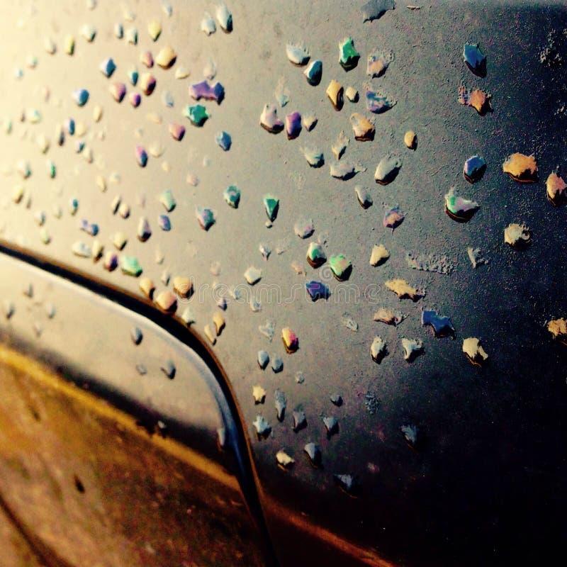 Тепловозная радуга стоковая фотография rf