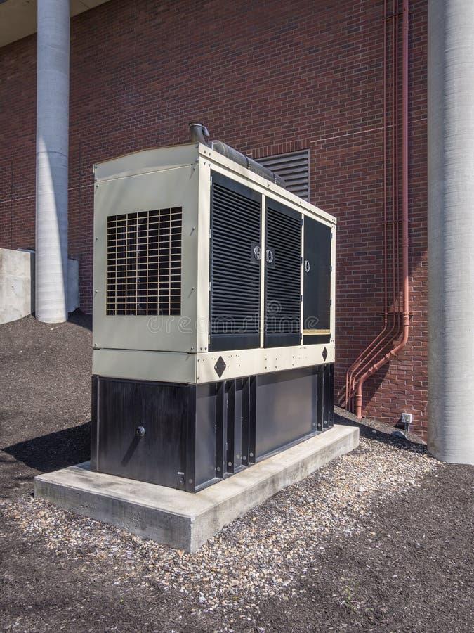 Тепловозный резервный генератор стоковое изображение rf