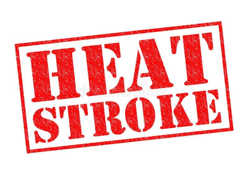 Тепловой удар стоковое изображение rf