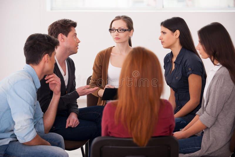 Терапия группы.
