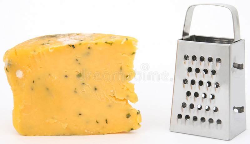 терка сыра Mouldy Стоковая Фотография