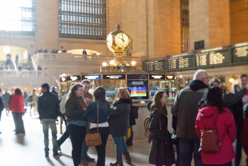 Терминал Нью-Йорка большой центральный стоковое фото rf