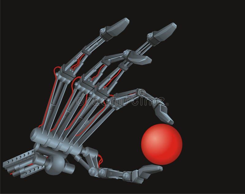 терминатор руки s иллюстрация вектора