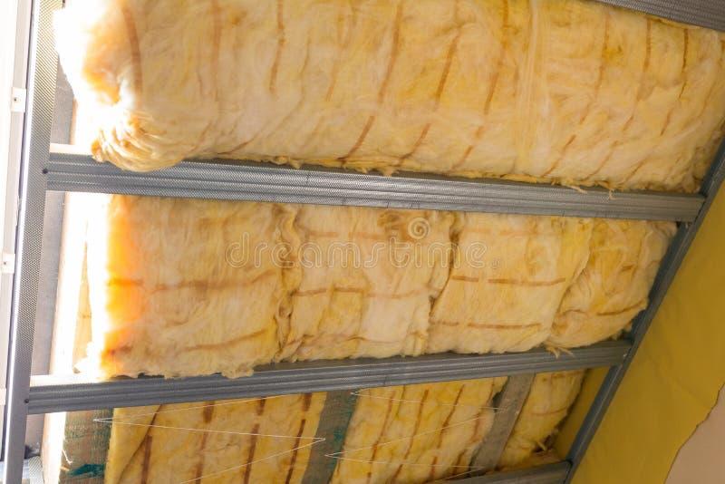 Термоизоляция дома стоковое изображение