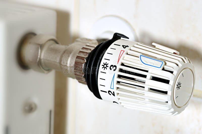 термостат выселка топления цены стоковые изображения