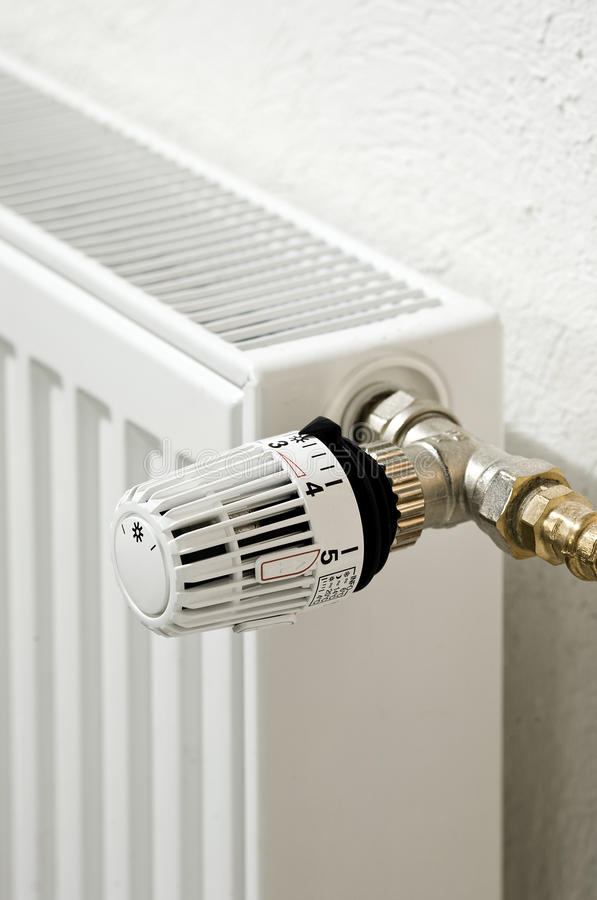 термостат радиатора стоковые изображения rf