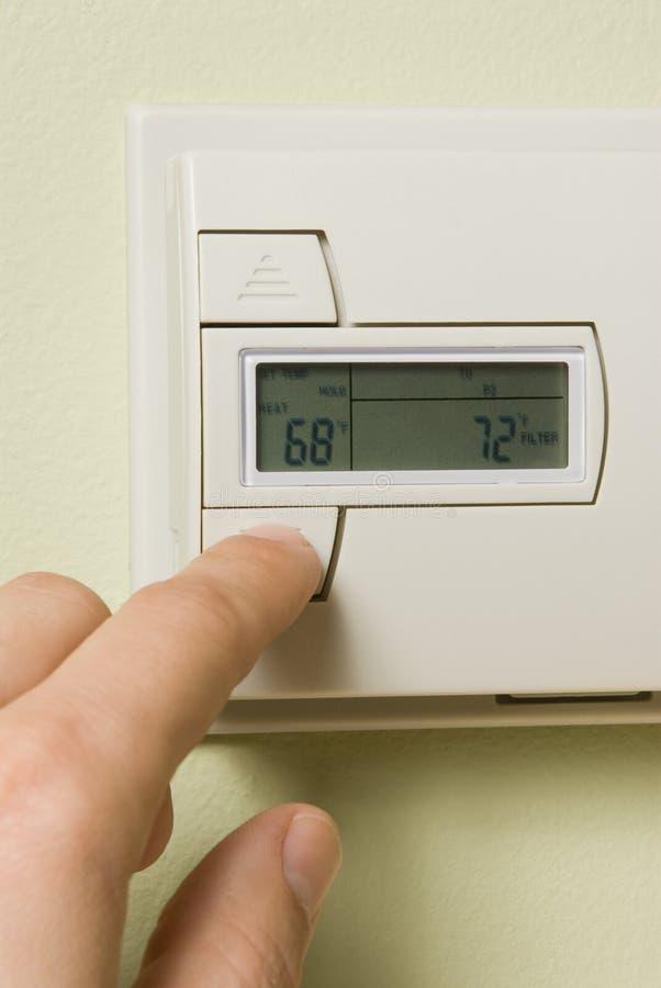 термостат Стоковая Фотография RF