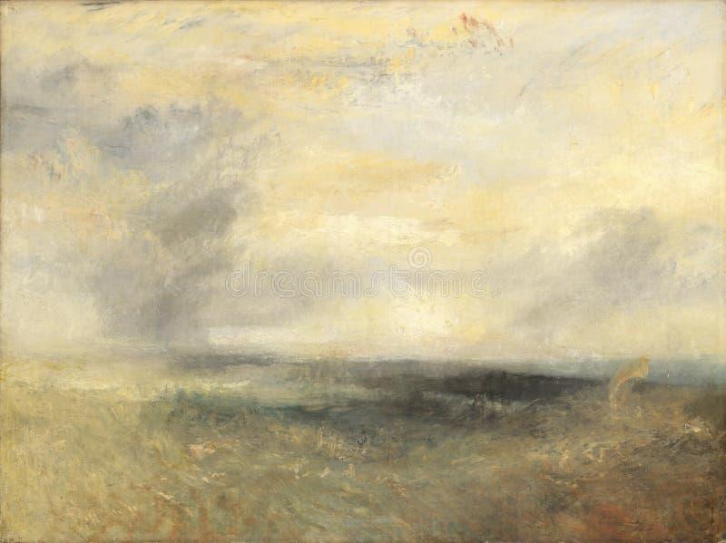 Тернер Иосиф Mallord Вильям - Margate, от моря стоковые изображения rf
