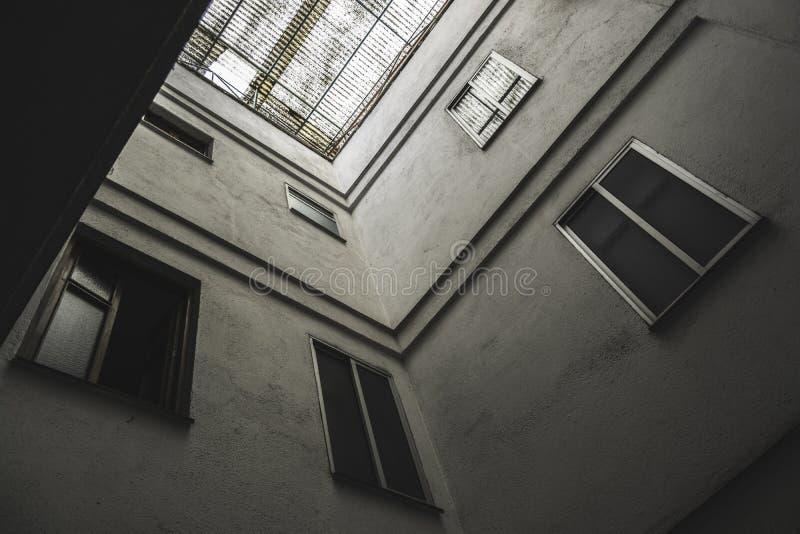 Терраса на крыше стоковое фото